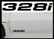 BMW 328i CAR BODY DECALS